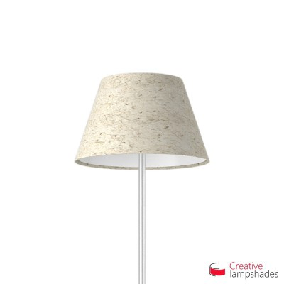 Empire Lamp Shade Banana Paper covering