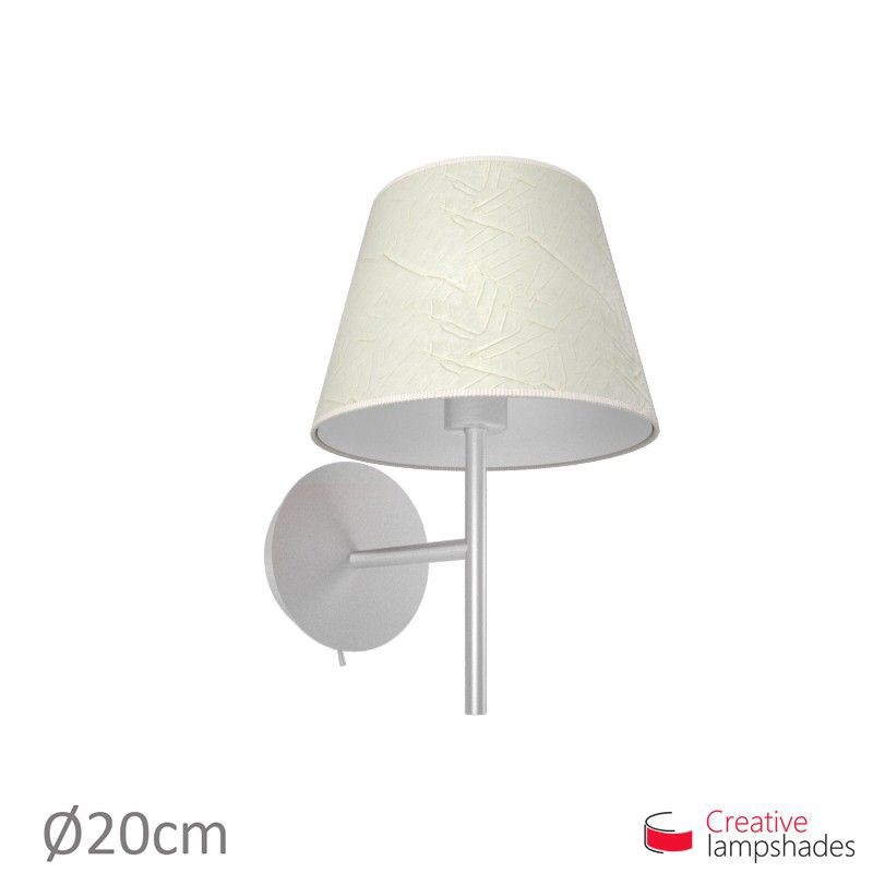 Empire Lamp Shade Milk Palmeras covering