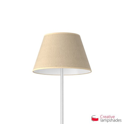 Empire Lamp Shade Natural Jute covering