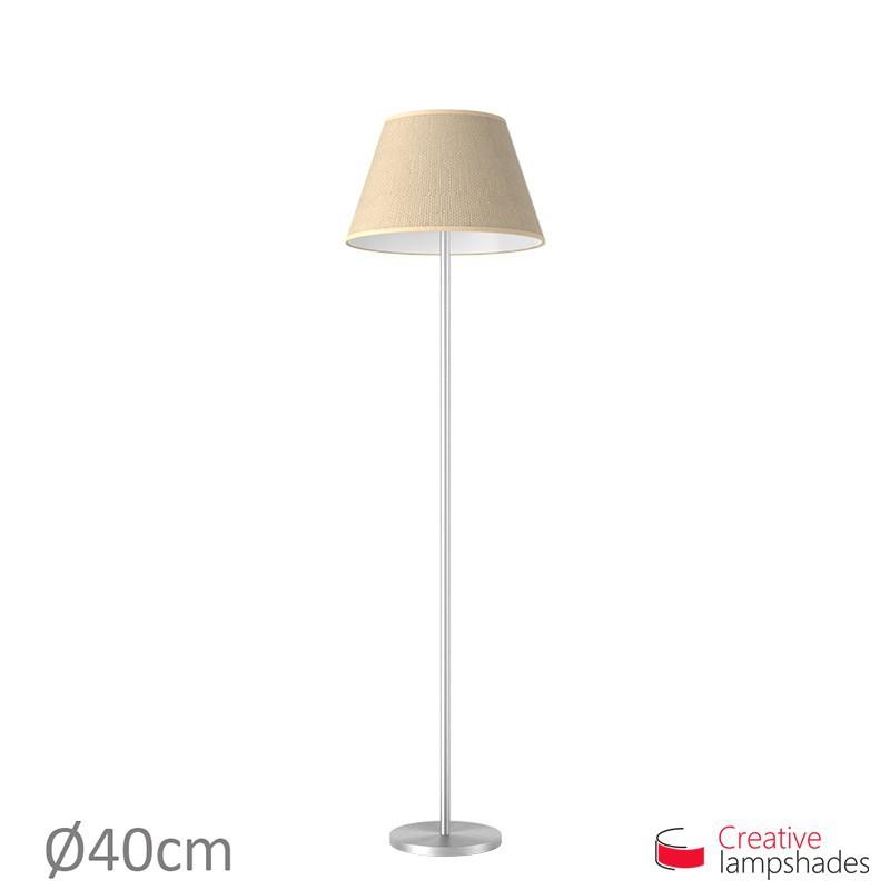 Empire Lamp Shade Natural Jute covering