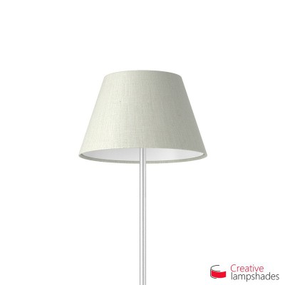 Empire Lamp Shade White Raw cotton covering