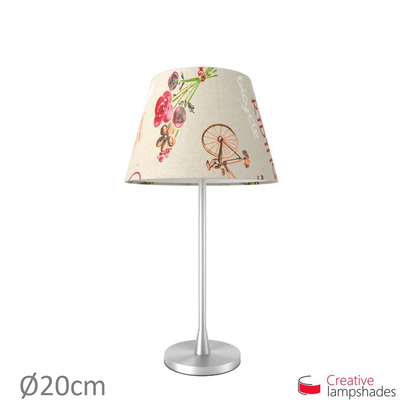 Empire Lamp Shade Bike Canvas covering
