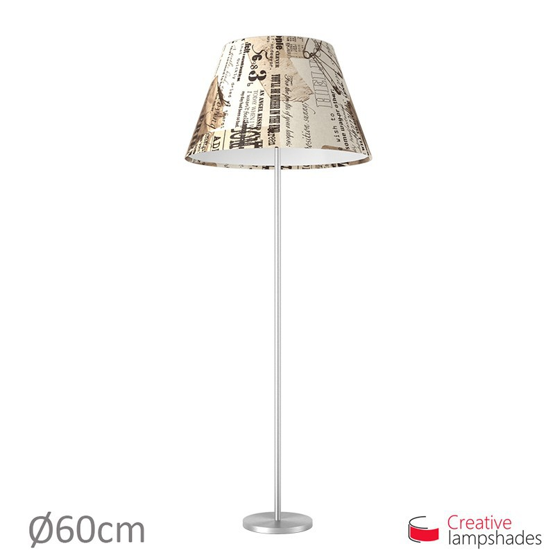 Empire Lamp Shade Friends Canvas covering