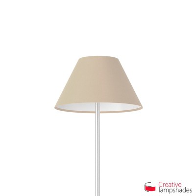 Chinese lampshade with Hazel Canvas covering