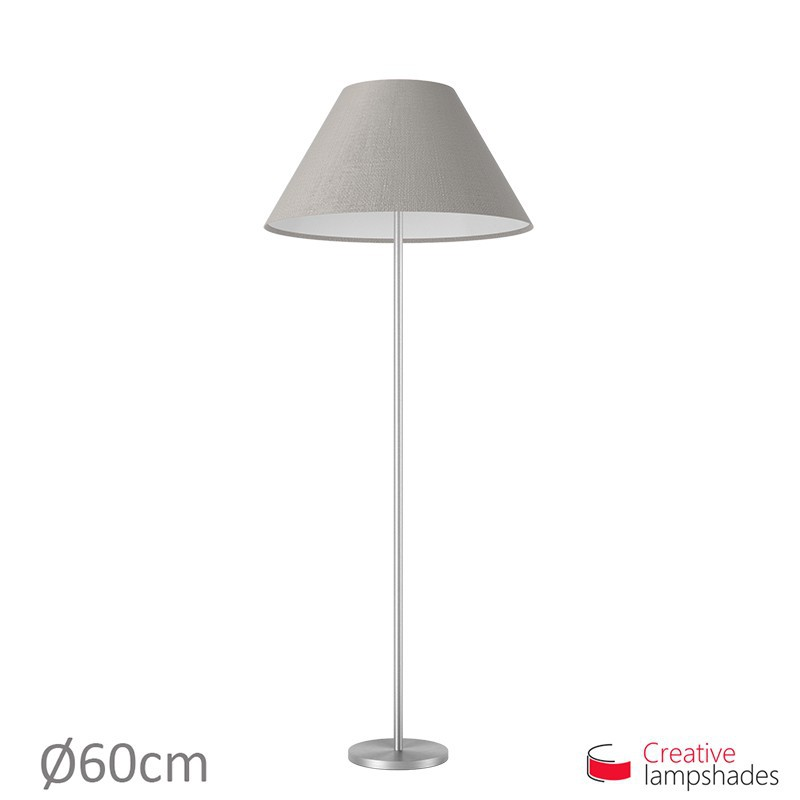 Chinese lampshade with Grey Camelot covering