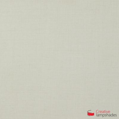Wand Lampenschirm Zylinder halbrund ink Anschlussdose (Aufputz) Sand Leinwand Bezug