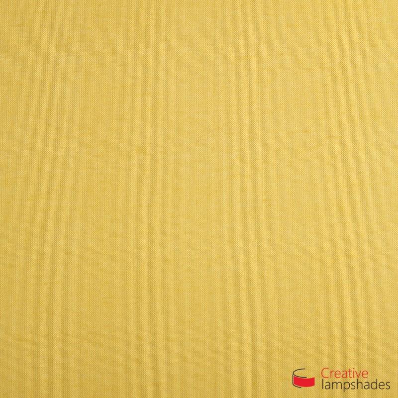 Wand Lampenschirm Zylinder halbrund ink Anschlussdose (Aufputz) Sandgelb Leinwand Bezug