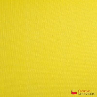 Wand Lampenschirm Zylinder halbrund ink Anschlussdose (Aufputz) Schwefelgelb Leinwand Bezug