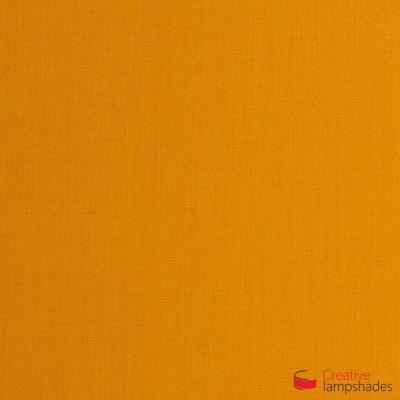 Wand Lampenschirm Zylinder halbrund ink Anschlussdose (Aufputz) Tieforange Leinwand Bezug