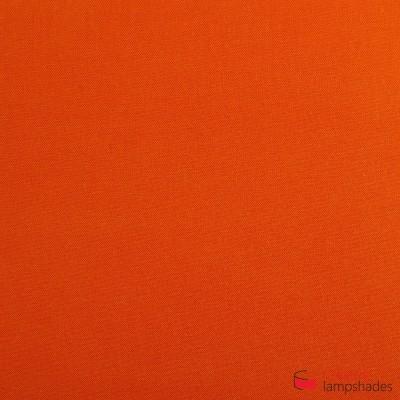 Wand Lampenschirm Zylinder halbrund ink Anschlussdose (Aufputz) Blutorange Leinwand Bezug