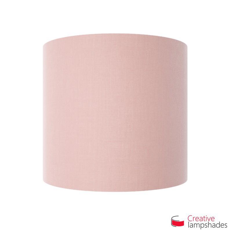 Paralume Ventola Cilindrica a parete con Scatolina Teletta Rosa