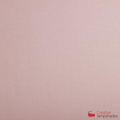 Wand Lampenschirm Zylinder halbrund ink Anschlussdose (Aufputz) Hellrosa Leinwand Bezug