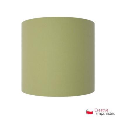 Paralume Ventola Cilindrica a parete con Scatolina Teletta Verde Oliva