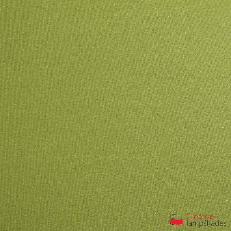 Half Cylinder Wall Lampshade Olive Green Canvas covering with  box