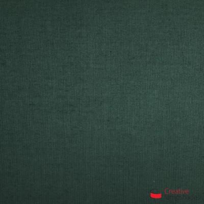 Wand Lampenschirm Zylinder halbrund ink Anschlussdose (Aufputz) tannengrün Leinwand Bezug