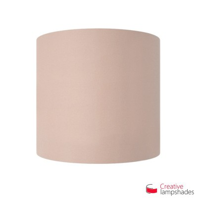 Half Cylinder Wall Lampshade Antique Pink Cinette with  box