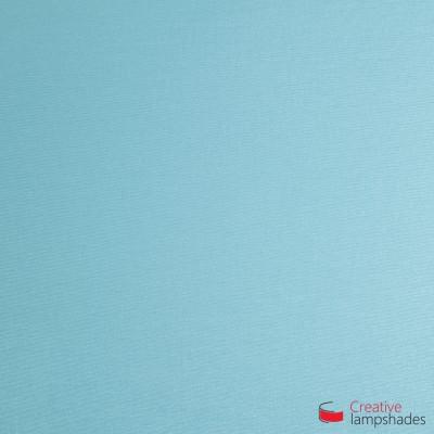 Wand Lampenschirm Zylinder halbrund ink Anschlussdose (Aufputz) babyblau Cinette Bezug