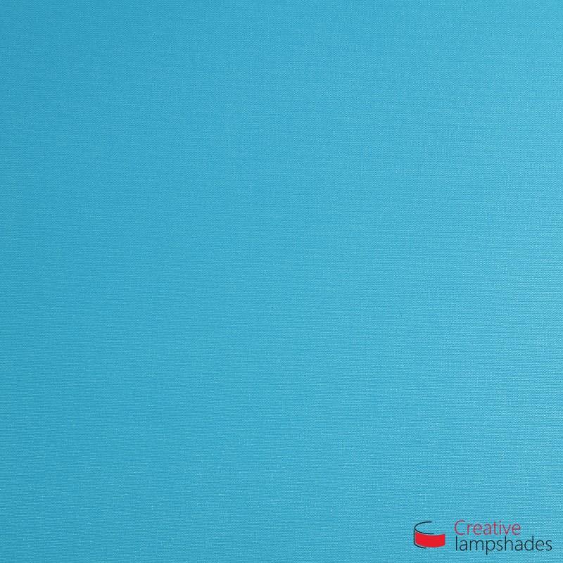 Demi Abat-jour Cylindrique à paroi avec Boîtier, Cinette Turquoise