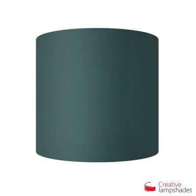 Half Cylinder Wall Lampshade Petrol Blue Cinette with  box