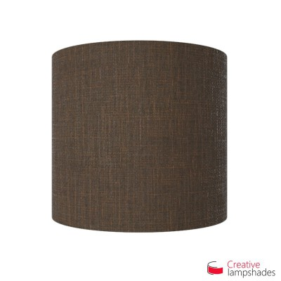 Half Cylinder Wall Lampshade Brown Camelot with  box