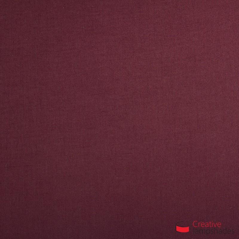 Paralume Ventola Cilindrica a parete con Scatolina Teletta Bordeaux