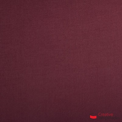 Wand Lampenschirm Zylinder halbrund ink Anschlussdose (Aufputz) Purpurrot Leinwand Bezug