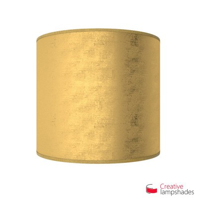 Half Cylinder Wall Lampshade Gold Leaf with  box