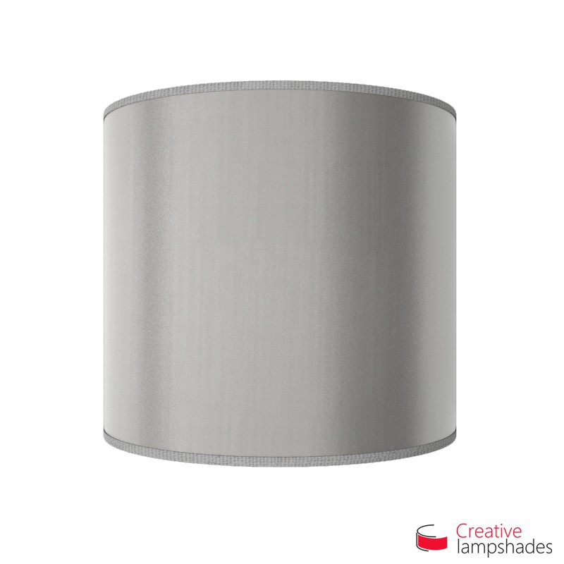 Half Cylinder Wall Lampshade Silver Leaf with  box