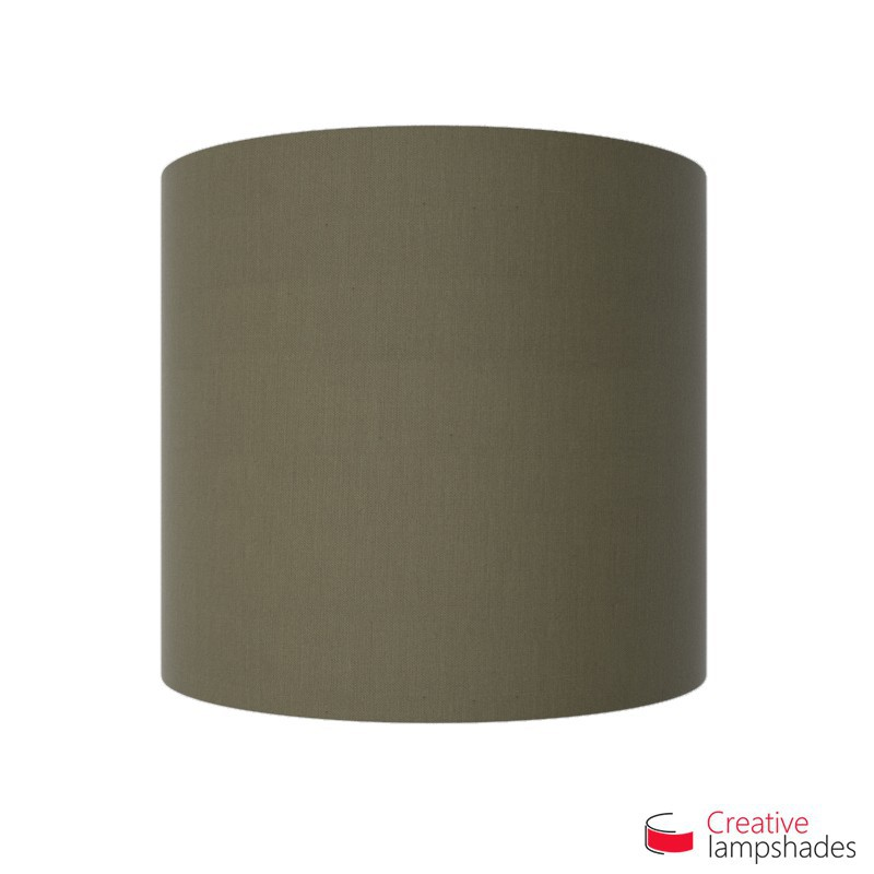 Half Cylinder Wall Lampshade Ash Canvas with  box