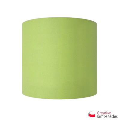 Half Cylinder Wall Lampshade Pistachio Green Cinette with  box