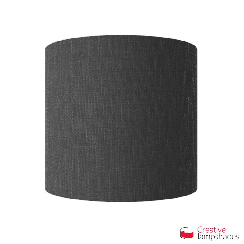 Half Cylinder Wall Lampshade Black Camelot with  box