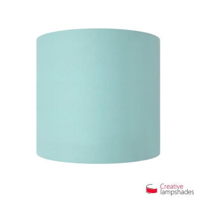 Half Cylinder Wall Lampshade Heavenly Blue Cinette with  box