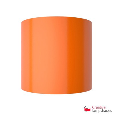 Half Cylinder Wall Lampshade Orange Lumiere with  box