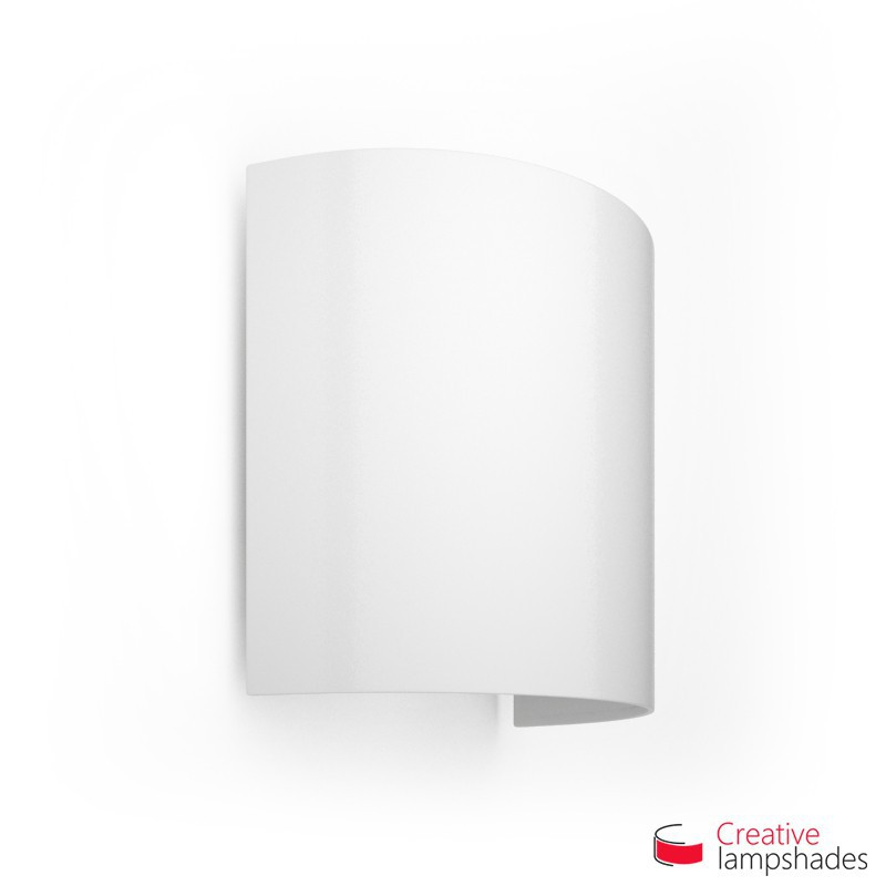 Half Cylinder Wall Lampshade White Lumiere with  box