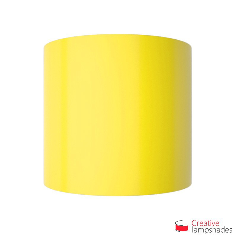 Half Cylinder Wall Lampshade Yellow Lumiere with  box