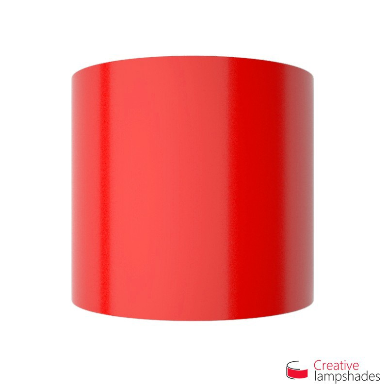 Half Cylinder Wall Lampshade Red Lumiere with  box