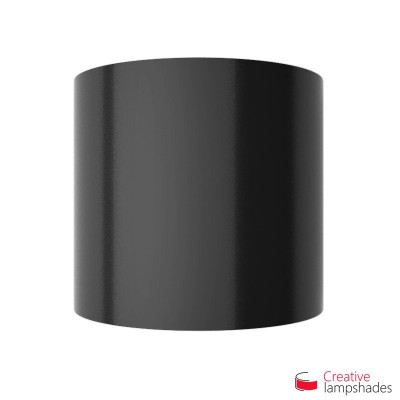 Half Cylinder Wall Lampshade Black Lumiere with  box