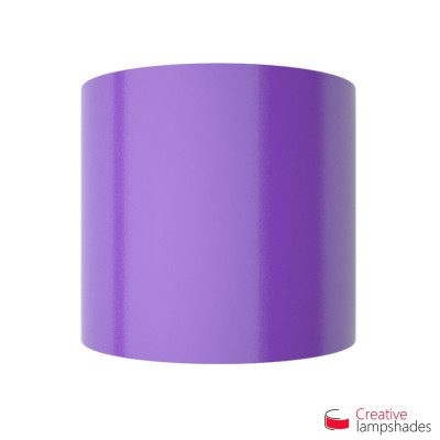 Half Cylinder Wall Lampshade Violet Lumiere with  box