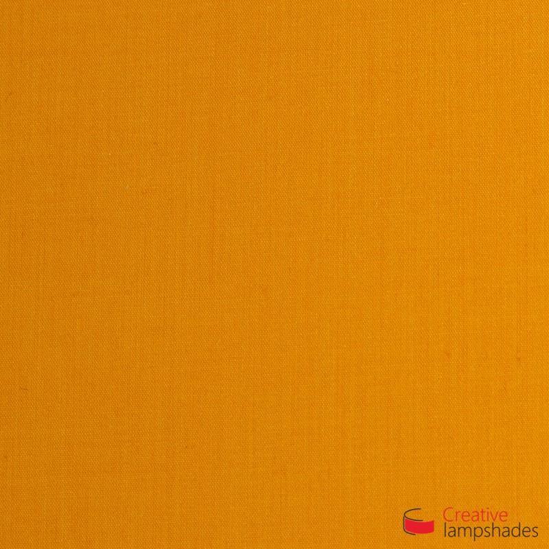 Lampenschirm halbrund Zylinder für Wandleuchte Jakobsmuschel Tieforange Leinwand