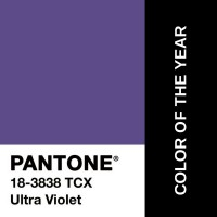 Color of the year: Ultraviolet Pantone 18-3838