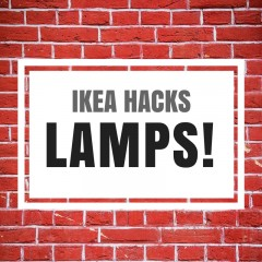 Ikea hacks: lamps