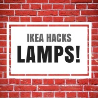 Ikea hacks: lamps